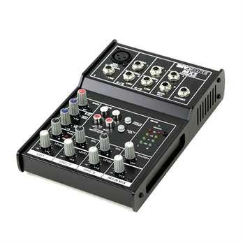 Invotone Mx5 Mixer mit EQ und 2 Stereo Kanälen