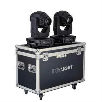 InvoLight SET 2x ProSpot300 mit Flightcase