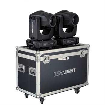 InvoLight SET 2x ProSpot500 mit Flightcase