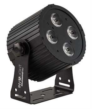 Involight Slimpar412Pro mit 4x12 Watt RGBWA/UV Led