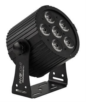 Involight SlimPar612Pro, 6x12 Watt RGBWA+UV LEDs
