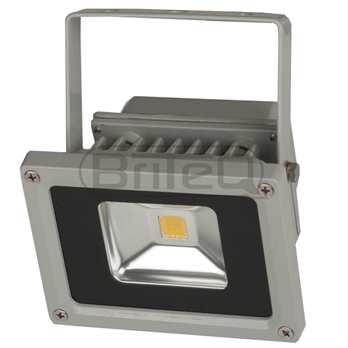 LDP-Flood10 Warmweißer LED Fluter 120 Grad  Der LDP-10 Flood aus dem Hause Briteq ist ein LED Outdoor Fluter mit der Schutzklasse Ip65 für Außenanwendungen, mit 10 Watt LED Lampe in warm weiss mit 3000-3300 Kelvin. Der Abstrahlwinkel des Scheinwer