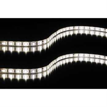 FS60-WW-5050-5M LED Streifen  Der flexible LED-Streifen (LED Stripe) hat 60 weiße LED´s je Meter und eine 24 Volt Ausführung, eine Gesamtlänge von 5,0 Meter haben dann 300 LEDs.  Eigenschaften von JB Systems FS60-WW-5050-5M LED Streifen:  Pr