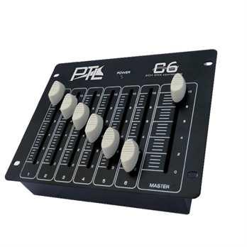 PTL C6 Controller für 6 DMX Kanäle