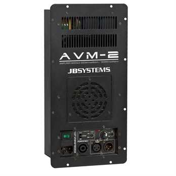 JB Systems AVM-2 Klasse D Einbau-Verstärkermodul