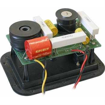 CN-9 Frequenzweiche  Die JB Systems 2 Weg Frequenzweiche ist für max 200 Watt RMS und hat eine Trennfrequenz von 2KHz bei 12dB/Okt. Die Weiche ist auf einer Einbauplatte mit 2 Speakerstecker montiert.  Eigenschaften von JB Systems CN-9 Freque