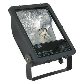 Floodlight HQ-150 schwarz asymetrisch  Der HQ-150 Floodlight aus dem Hause Showtec ist ein 150 Watt starkes für den Außeneinsatz geeigneter Fluter mit 4200 Kelvin. Er eignet sich mit der Leistung gut für die Ausleuchtung von größeren Flächen.  E