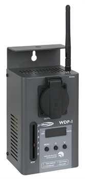 Showtec Single WDP-1 1 Kanal Funk DMX Dimmerpack  1 Kanal DMX Switch-, und Dimmerpack mit Wireless DMX Receiver von Showtec der WDP-1. Man kann das Gerät mühelos an Wände, Stative oder Traversen montieren, so ist es überall dort direkt einsetz