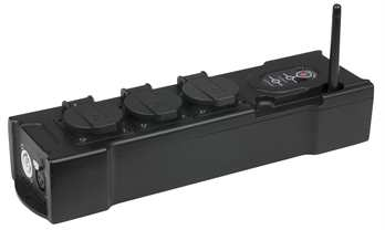 Showtec PowerBOX 3 Built-in 2,4GHz W-DMX Receiver