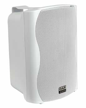Light weight - Brackets included - Scratch resistant housing - Easy to clean 65W - Dieses Set enthält 2 Stck. (weiß) 2-weg Passivlautsprecher, inkl. Haltebügel Woofer: 6.5 Zoll, 16 Ohm Hochtöner: 12,6 mm Mylar Dome Hochtöner Nominale Impedanz: 16 Ohm Po