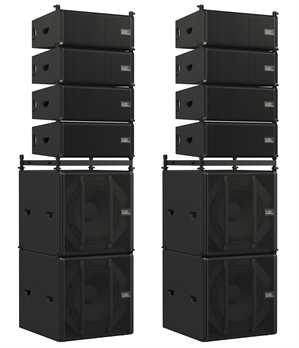 Odin Stack Set Aktiv mit 8xTop 2xSub Case&Zubehör
