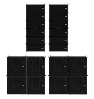 Odin Array Set mit 12x Sat 8xSub Cases & Zubehör
