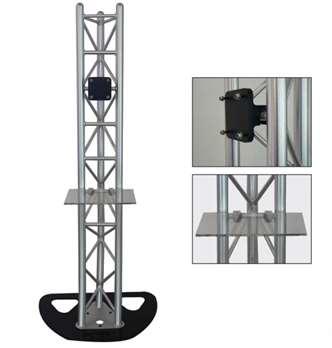 Plasma TV-Stand GLOBAL TRUSS  Traglast max. 85kg. TV max. 55 Zoll.